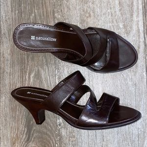 NWOB Naturalizer Mai Tai Leather Heels